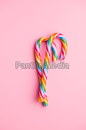 colorful candy cane