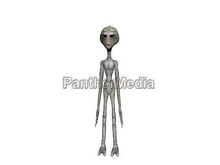 arid aliens of delicate physique 3d