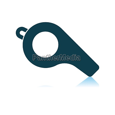 american football whistle icon