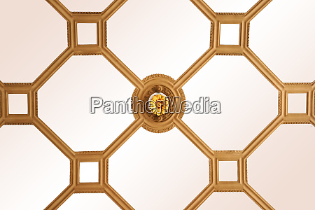 ceiling paneling with ornaments