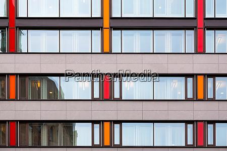 modern european office building wall texture