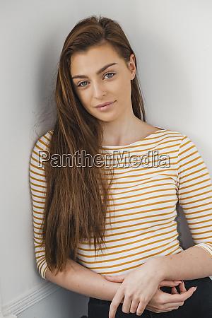 portrait of a female model