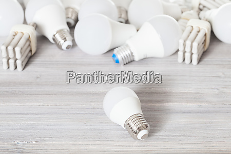 led bulb light and various energy