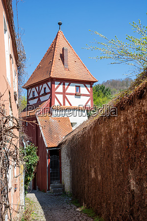 historic, medieval, tower, in, beilngries - 26893008