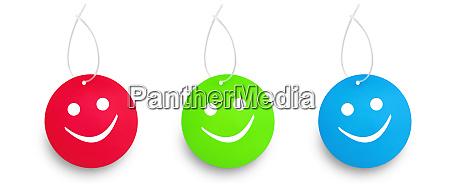 three color humor tags