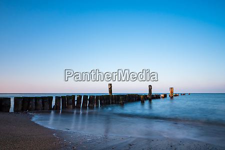 baltic sea coast in graal mueritz