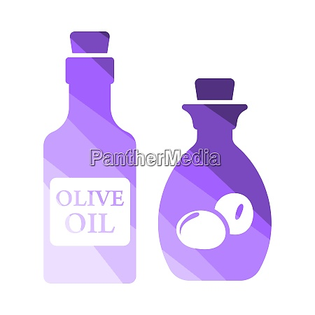 bottle of olive oil icon