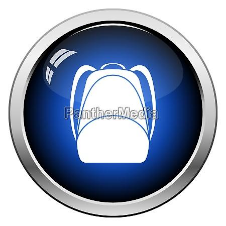 school rucksack icon