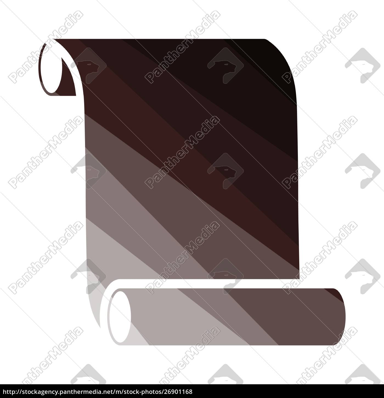 canvas, scroll, icon - 26901168