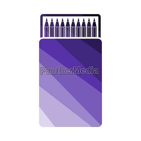 pencil, box, icon - 26901084