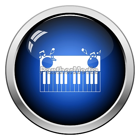 piano, keyboard, icon - 26901173