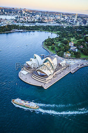 aerial view of sydney cityscape sydney