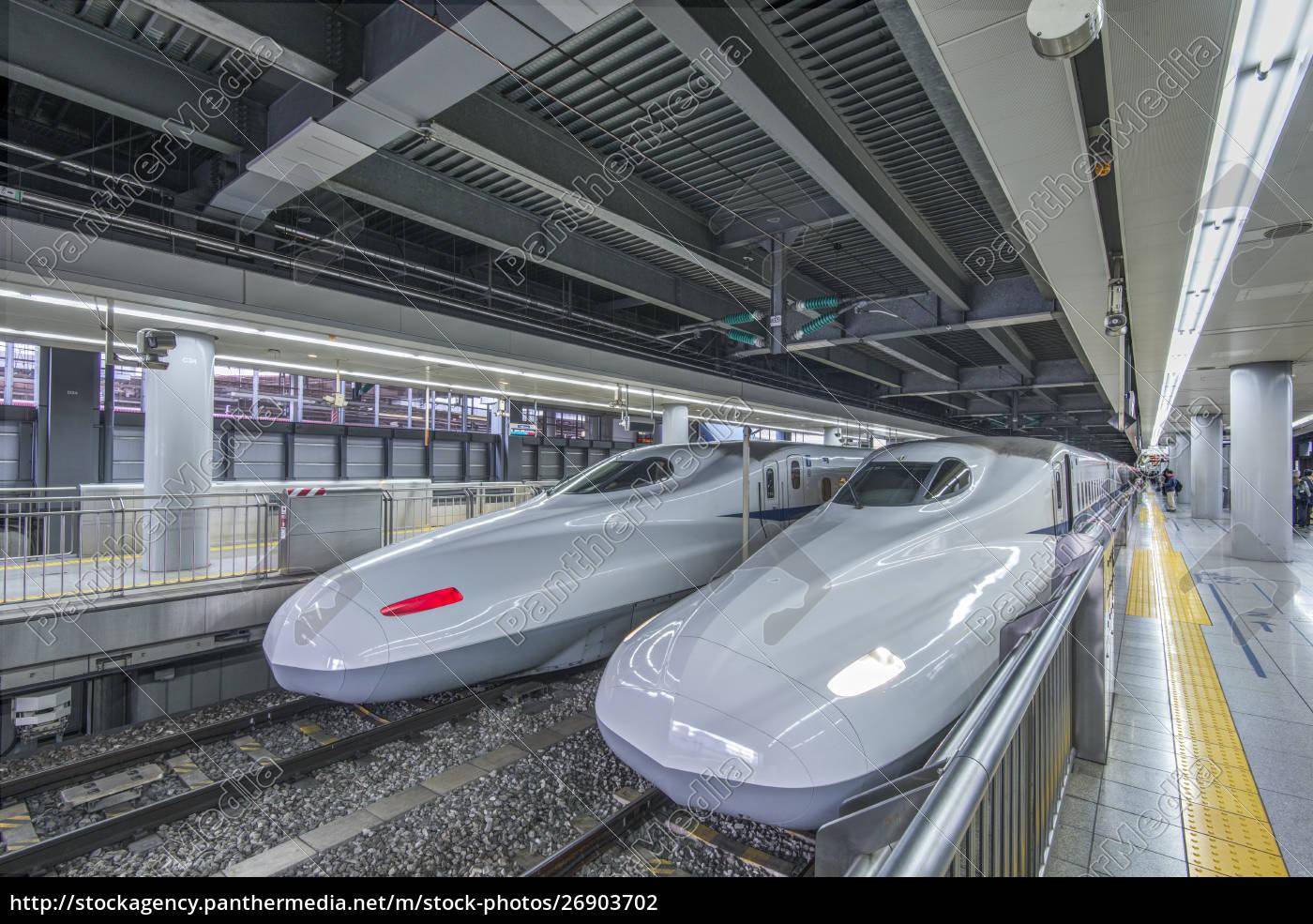high, speed, trains, in, station, , tokyo, - 26903702
