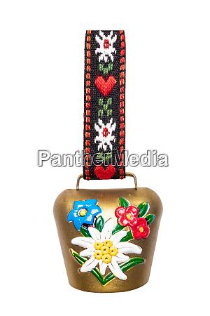switzerland souvenir closeup of colorful swiss