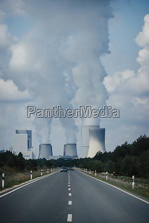 smoke emitting from boxberg power station