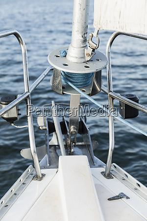 sailboat bow equipment