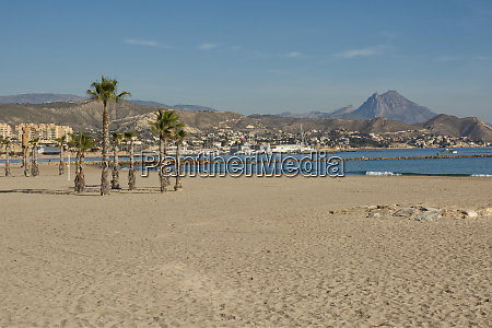 beach at el campello spain