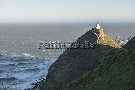 lighthouse on nugget point in otago