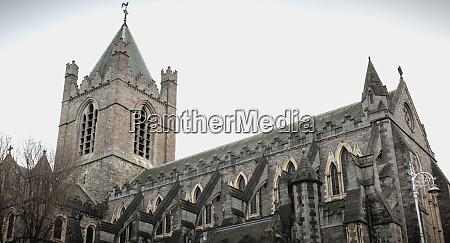 architectural detail of christ church cathedral