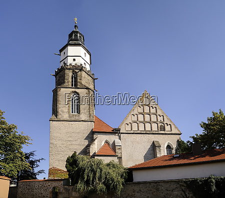 germany saxony kamenz church st marien