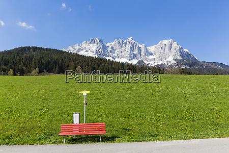 austria tyrol going am wilden kaiser