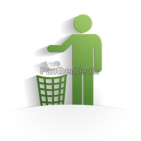 cleanliness icon paper