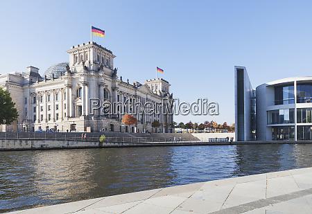 germany berlin regierungsviertel reichstag building paul