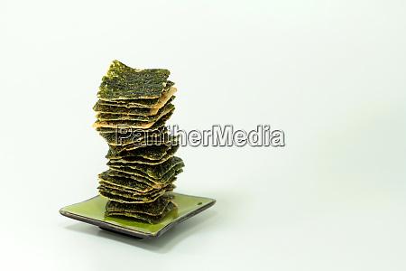 seaweed rice crisps