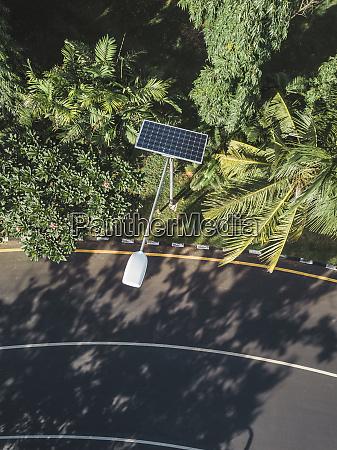 indonesia bali solar powered street lamp