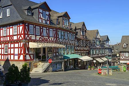 germany hesse braunfels old town market