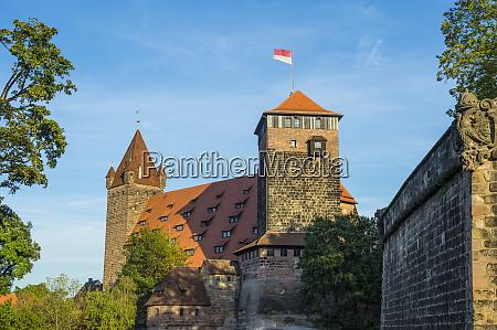 germany nuremberg nuremberg castle