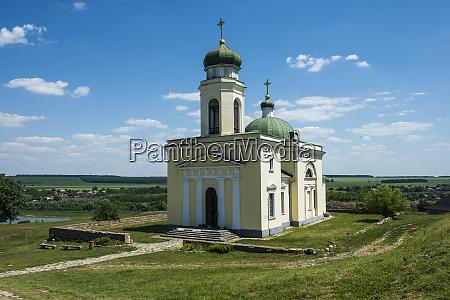 orthodox church in the khotyn fortress