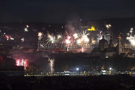 germany bavaria wuerzburg new years eve