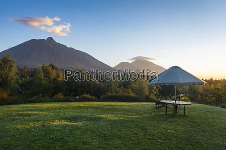 rwanda virunga national park sun shade