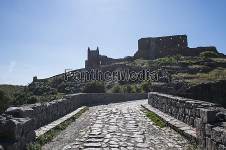 denmark bornholm hammershus castle ruins