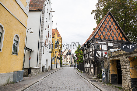 sweden gotland county visby old town