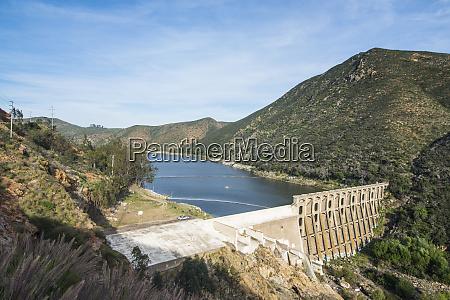 usa california escondido lake hodges dam