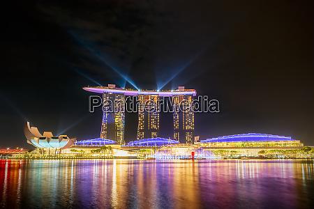 singapore marina bay sands hotel at