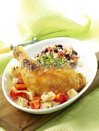 filled chicken italiana