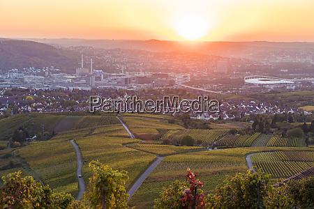 germany baden wuerttemberg stuttgart untertuerkheim and