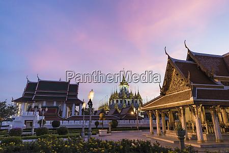 thailand bangkok loha prasat temple at