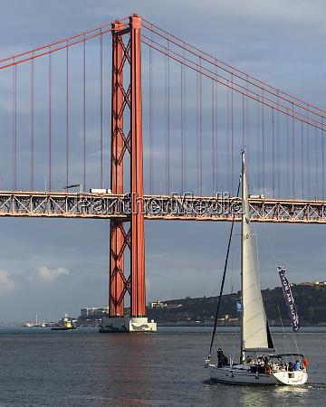 the 25 de abril bridge lisbon