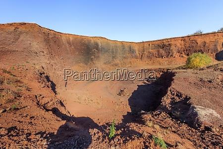 the gruiu volcano brasov county romania