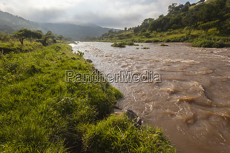 river flowing waters valley rural
