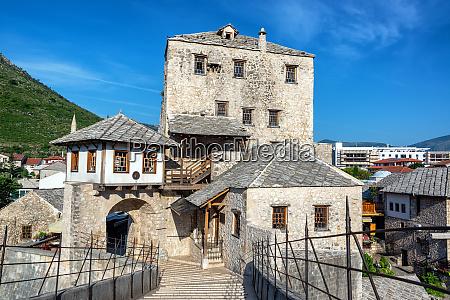 view of historic mostar bosnia