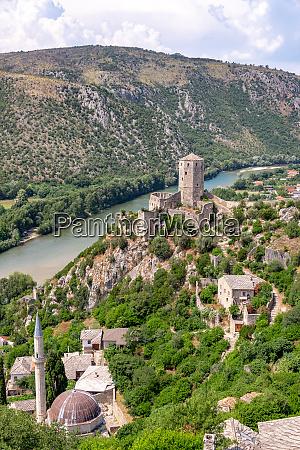 historic pocitelj bosnia view