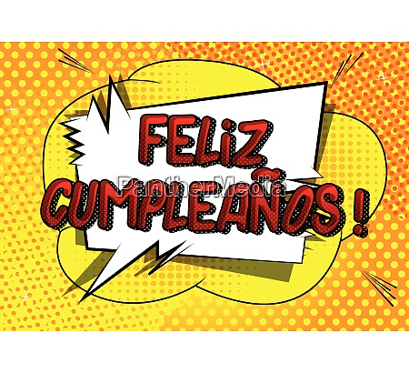 feliz cumpleanos happy birthday in spanish