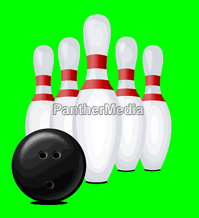 bowling pin ball sport recreation competition