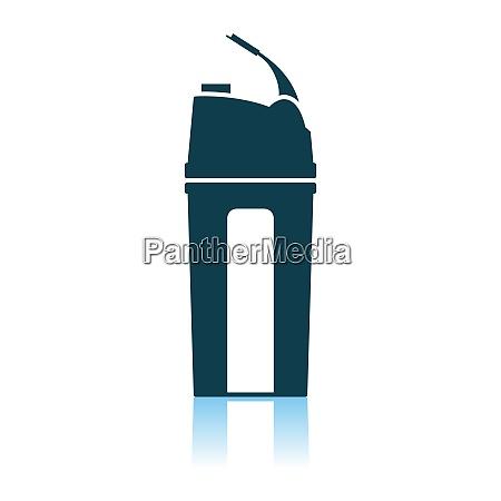fitness bottle icon