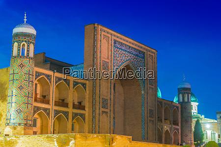 kukeldash madrasah medieval madrasa in tashkent